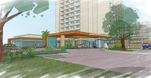The newly renovated Holiday Inn will re-open this fall.