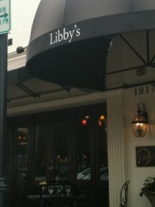 Fresh Regional Fare at Libby's Cafe and Bar