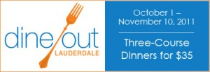 Dine Out Fort Lauderdale Plates Up 'Til November 10