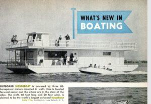 Larry Vita, Houseboat Innovator of Ft. Lauderdale