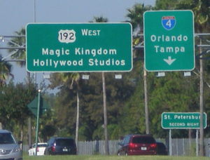 Orlando Florida highway