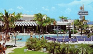 A promotional postcard view of the Guy Lombardo resort on Tierra Verde in the 1960s.